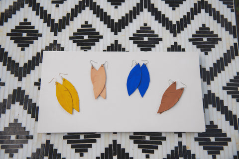 Leila Feather Earring