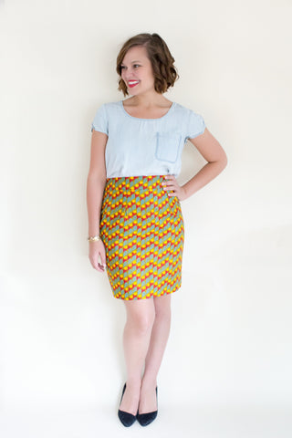 Fair Trade Sustainable Skirt made from Rwanda