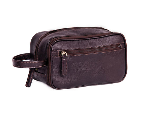 2080 - Wash Bag in Brown