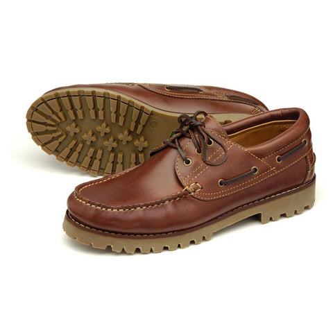 522 - Heavy Brown Deck Shoe
