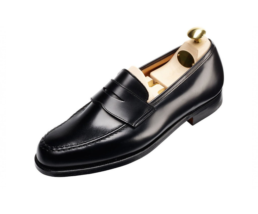 Boston - Cavalry Calf Black Loafer