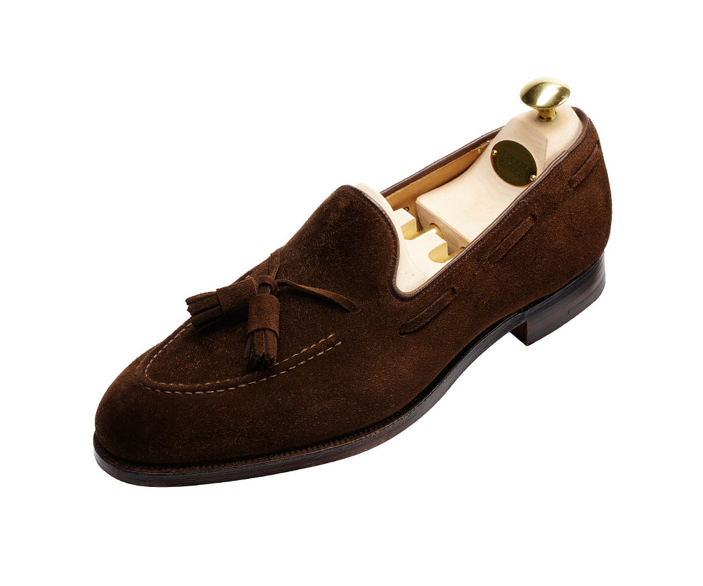 Cavendish - Dark Brown Calf Suede