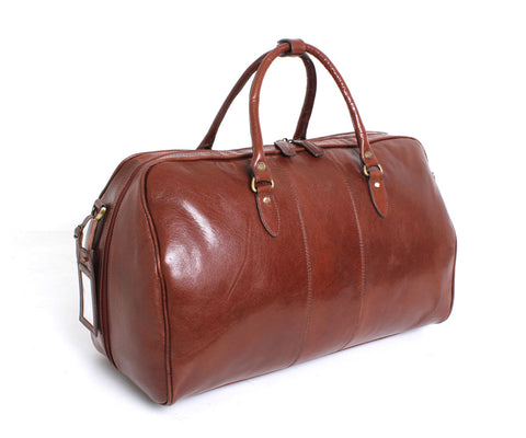 Charles - Ashwood Weekend Bag Chestnut