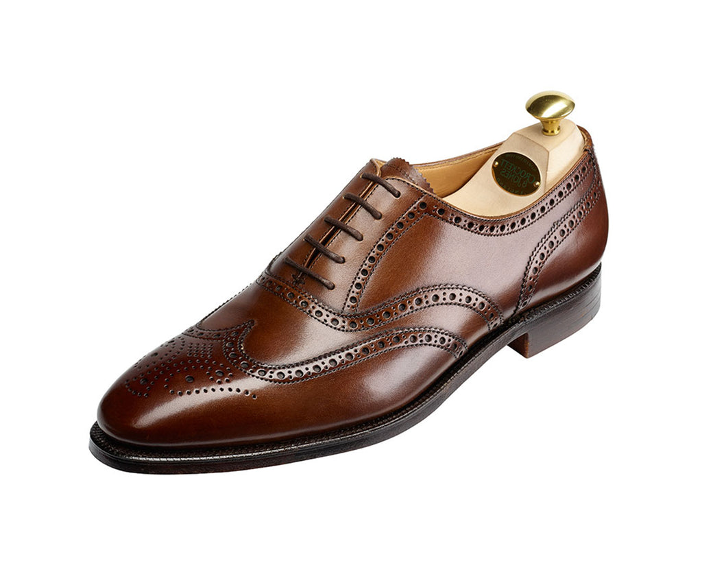 Finsbury - Chestnut Burnished Calf