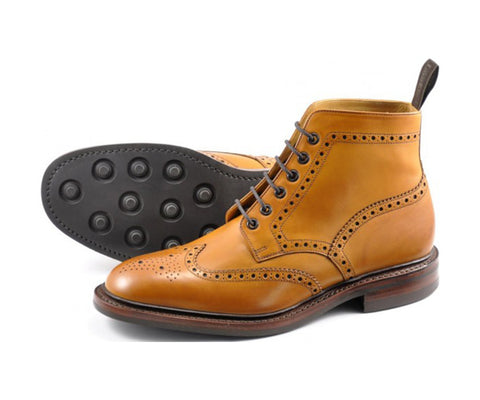 Burford Boot - Tan Rubber Sole