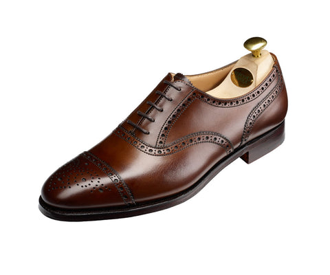 Westfield - Dark Brown Burnished Calf