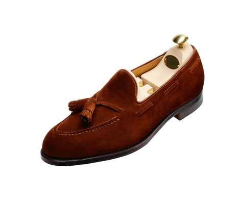 Cavendish - Polo Brown Calf Suede