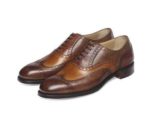 James II -  Conker, Chestnut & Dark Leaf Calf Leather