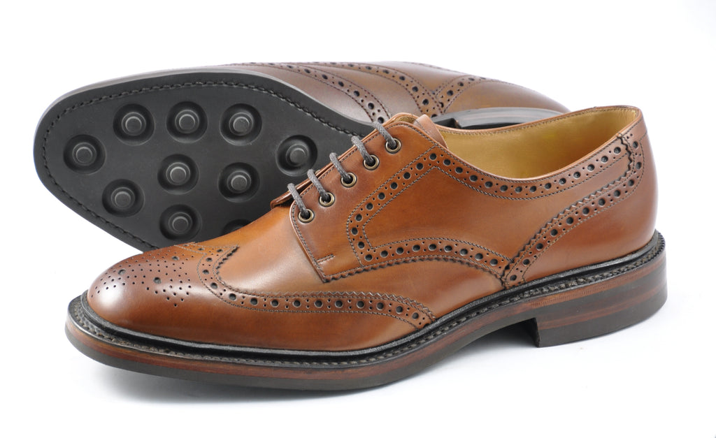 Chester - Brown Rubber Sole