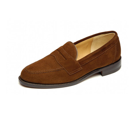 Eton - Brown Suede Loafer