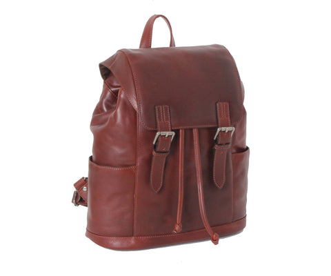 Harvey - Ashwood Leather Rucksack Tan