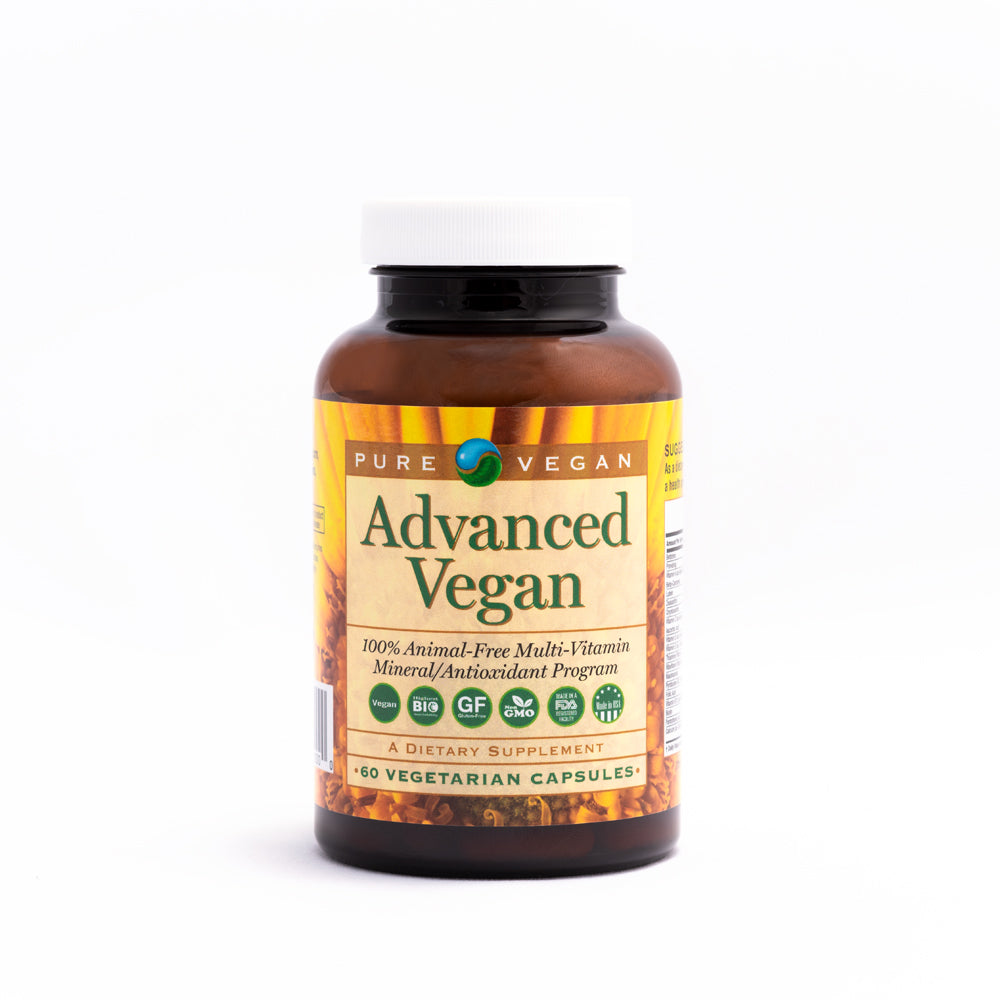 Pure Vegan Advanced Multi-Vitamin Caps