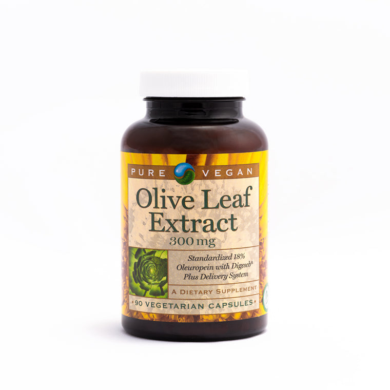 Pure Vegan Olive Leaf Extract Caps