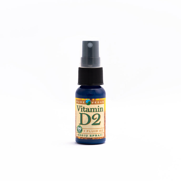 Pure Vegan Vitamin D2 Spray