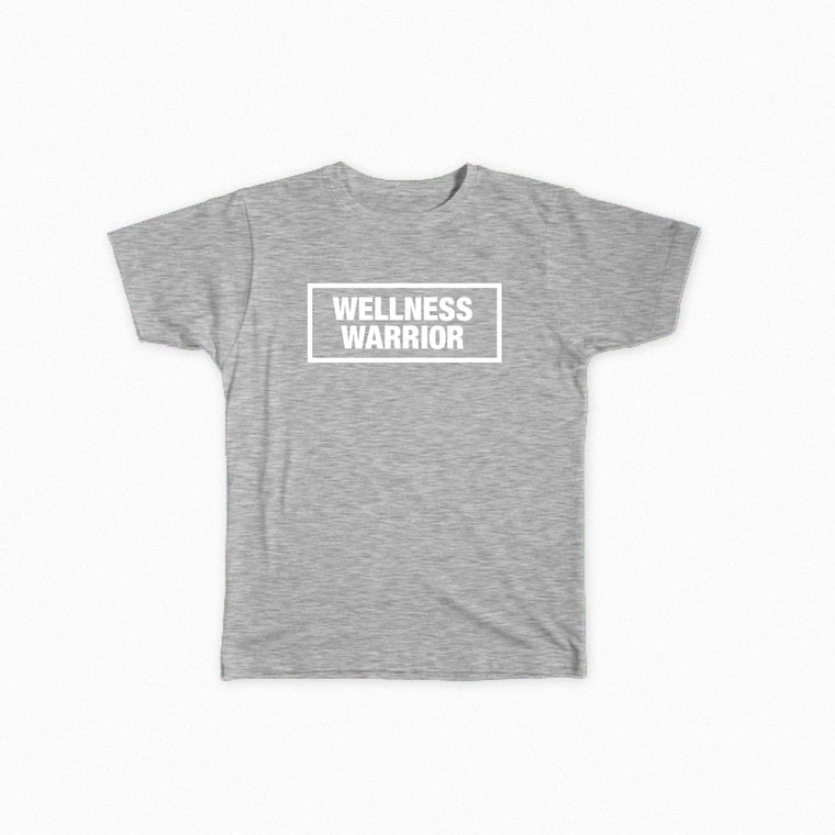 Wellness Warrior Tri-Blend Grey T-Shirt