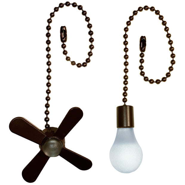 Fan/Light Ceiling Fan Pull Chain Set