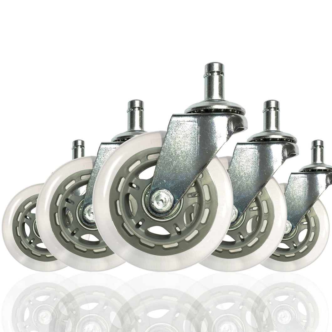 Set of 5 Rollerblade Office Chair Wheels 3