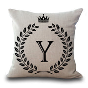 Cotton Linen Throw Pillow Cushion Cover