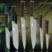 Professional Chef Kitchen Knife Cutlery Set