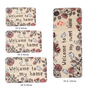 Hallway Welcome Floor Mats
