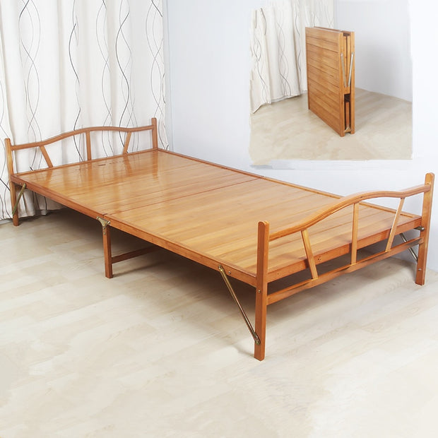 Bamboo Furniture Single Foldable Bed