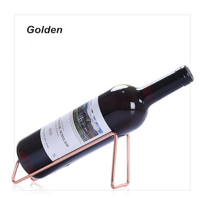 Metal Red Wine Rack Shelf