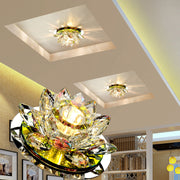 LAIMAIK Crystal LED Ceiling Light