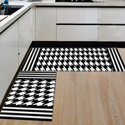 Modern Geometric Kitchen Mat