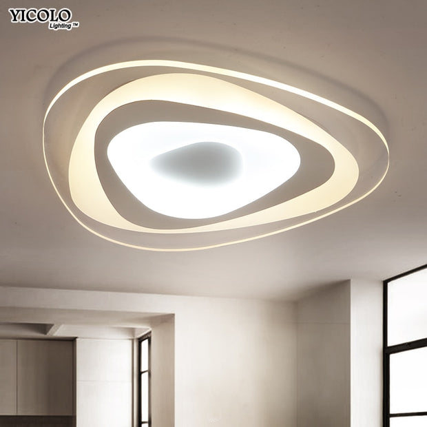 Ultrathin Triangle Ceiling Lights lamps