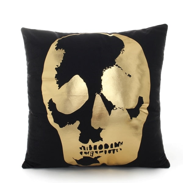 Bronzing cushion cover cushion
