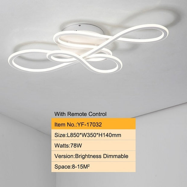 Glow modern led ceiling lights