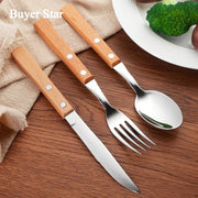 Spoon Knife Fruit Fork