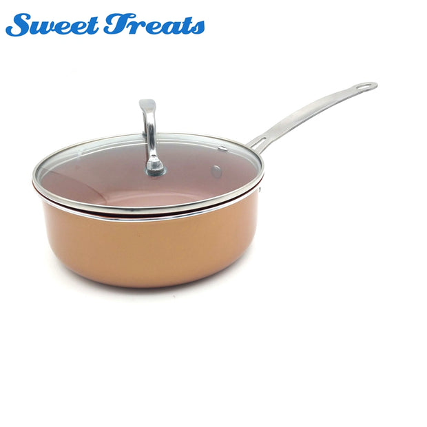 Copper Ceramic Coated Cookware