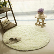 Fluffy Round Rug Carpets