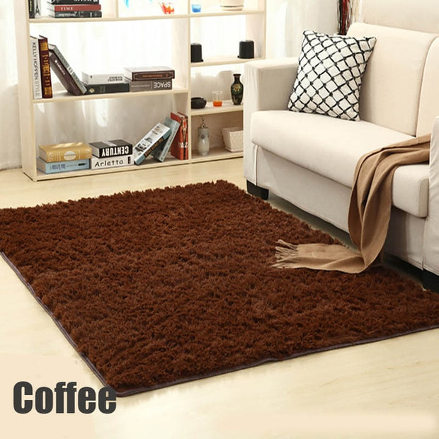 Shaggy Warm Plush Floor Rugs