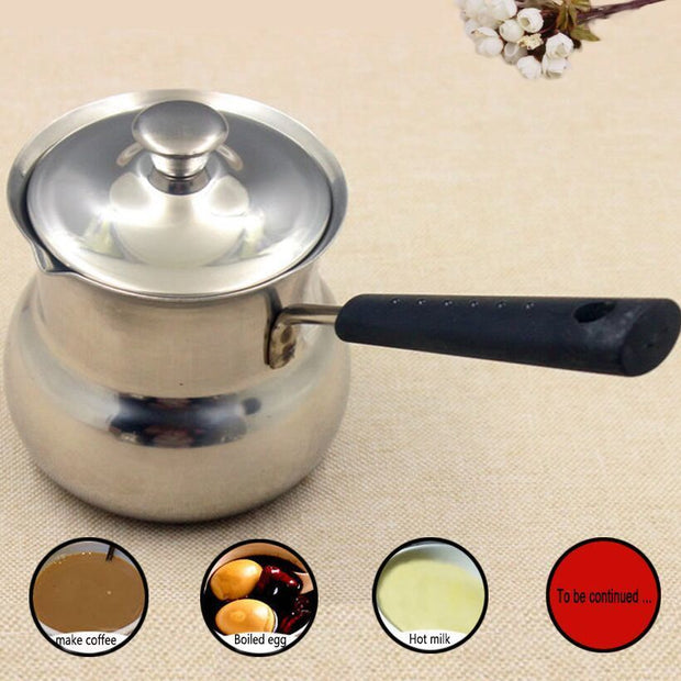 Stainless Steel with Steel Lid Soup Pot