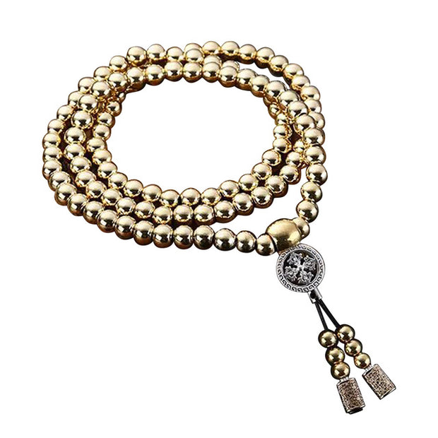 108 Buddha Beads Necklace Chain