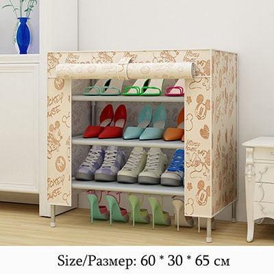 Multifunction Storage Shoe Rack