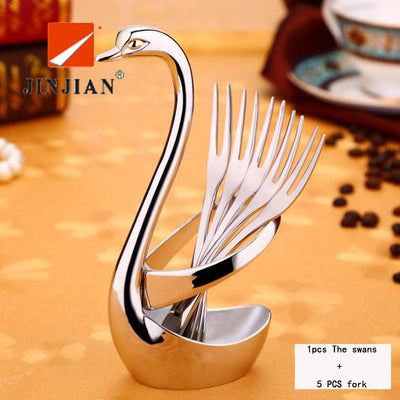 Stainless Steel Swan cutlery