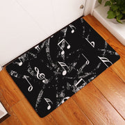 Piano Music Door Floor Mats