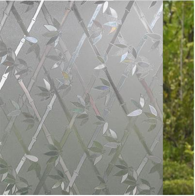 Glue-free plastic-free 3D laser electrostatic glass film