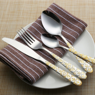 Stainless Dinner Food Cutlery