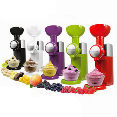 Automatic Fruit Dessert Machine Fruit Ice Cream Maker Milkshake Machine  Ice Cream Tool