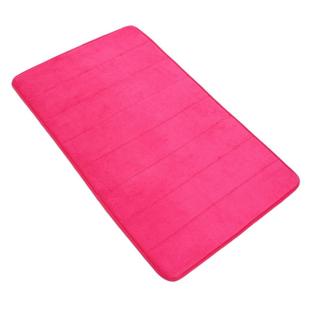 Newest 50x80cm Memory Foam Floor Bath Mat