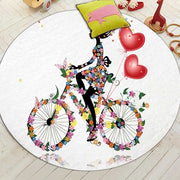 Miracille Cartoon Series Fairy Printed Children Carpet