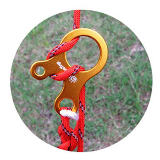 Outdoor Rope Three-hole Quick Tool