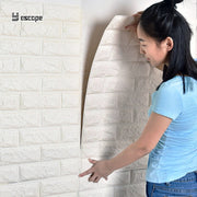 77*70CM DIY 3D Brick Home Decoration Wall Stickers