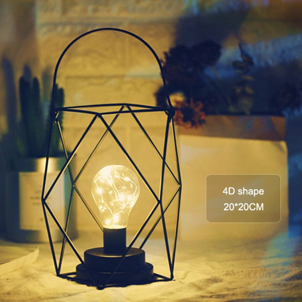 Nordic Retro Table Lamp