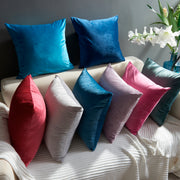 Simple Solid Throw Cushion