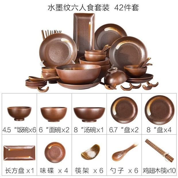 Japanese cutlery tableware bowls